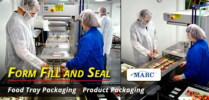 MARC Food Packaging Trays, Product Packaging, Form Fill and Seal