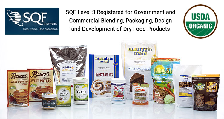 MARC specializes in dry food blending and food packaging services